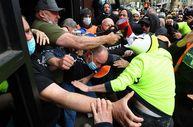 Avustralya'da inşaat işçilerinden aşı karşıtı protesto: Şantiyeler kapatıldı