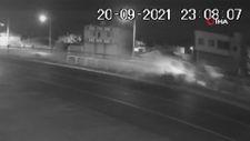 Manisa'da 5 kişinin yaralandığı kaza kamerada