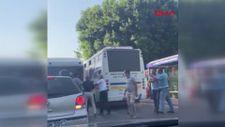 Mersin'de şoförlerin yolcu alma kavgası