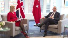 Mevlüt Çavuşoğlu, İngiliz mevkidaşı ile görüştü