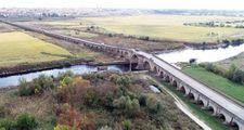 Tarihi Uzunköprü'de restorasyon