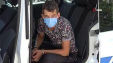 Antalya'da hırsızlık şüphelisinin 'koronayım' yalanı tutmadı