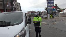 Avcılar'da ters yöne giren sürücülere ceza yağdı