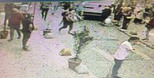 Beyoğlu'nda başından vurduğu eşini kucağında caddeye taşıdı