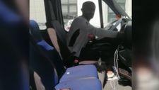 Ankara'da ambulans şoförü insan kaçakçısı çıktı
