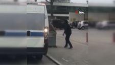 Bursa'da palayla yolcu minibüsüne saldırı