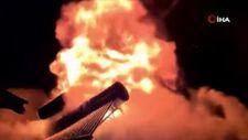 Karabük'te garajda başlayan yangın çatıyı sardı