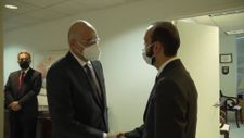 Nikos Dendias, Ermeni mevkidaşı Mirzoyan ile görüştü