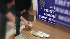 Van'da üzerinde uyuşturucuyla uçağa binmeye çalışan kişi yakalandı