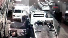 Bayrampaşa'da camı açık çekiciden hırsızlık