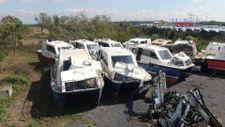 İstanbul'da yeni deniz taksiler çürümeye terkedildi