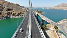 Sürücüler Kömürhan Köprüsü'nden memnun