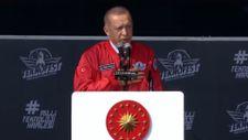 Cumhurbaşkanı Erdoğan: Yapılan gösterileri beğendiniz mi?