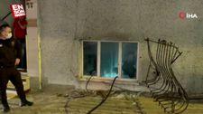 Sultangazi'de yangında mahsur kalan 11 kişi kurtarıldı