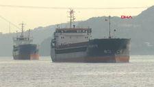 Türk ve Rus bandralı iki kuru yük gemisi çarpıştı