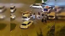 Antalya'da trafikte 'Erik Dalı' kavgası