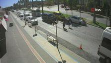 Antalya'da yayalara yol veren otomobile çarptı: Genç kız havaya savruldu