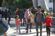 Fethiye'de yurt dışına çıkmaya çalışan 254 düzensiz göçmen yakalandı