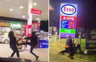 İngiltere'de benzin kuyruğunda kavgalar başladı