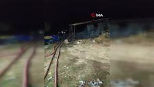 Bursa'da samanlıkta yangın çıktı