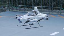 Elektrikli uçan taksi SkyDrive SD-03, 2025'te göklerde