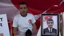 Evlat nöbeti tutan baba: HDP milletvekilleri Kandil'i çok seviyorlarsa onlar gitsinler