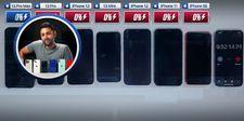 iPhone 13 serisi batarya testi