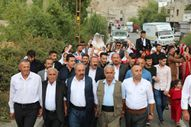 Şırnak'ta düğünlerde araç konvoyu yerine at geleneği devam ediyor
