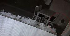 Arnavutköy'de lokantaya giren hırsız tuvaletini yaptı