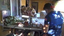 Avcılar'daki halı yıkama yerinde sağlıksız koşulda bekletilen etlere el konuldu