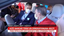 Aziz Sancar, TOGG'un direksiyonuna geçti