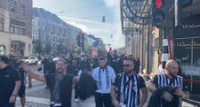 Beşiktaş taraftarı Hollanda'da