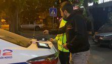 Bursa'da alkollü sürücü alkolmetre cihazıyla cezasını ödemeye çalıştı