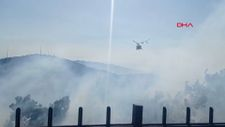 İzmir'de orman yangını
