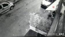Kasımpaşa'da kınada yaşanan cinayet anları kamerada