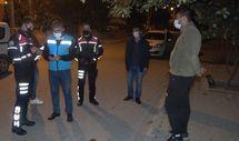 Kırıkkale'de karantina ihlali yapan genç, cezadan kaçamadı