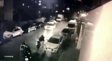 Üsküdar'da motosiklet hırsızlığı 1 buçuk dakika sürdü