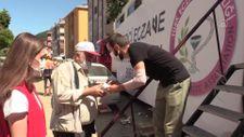 Bozkurt'ta ilaç ihtiyacını mobil eczane karşıladı