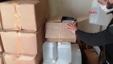 Gaziantep'te 9 şahıs, sahte içki operasyonunda yakalandı