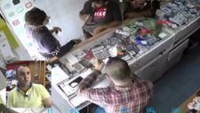 Gaziantep'te telefon hırsızlığı kamerada