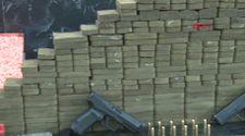İstanbul'daki operasyonda onlarca kilo uyuşturucuya el konuldu