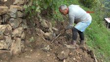 Myanmar'a gidemeyen büyükelçi, Rize'de bahçe işleri ile uğraşıyor