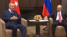 Soçi'de Cumhurbaşkanı Erdoğan-Putin görüşmesi