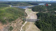 Suların geri çekilmesi sebebiyle Alibeyköy Barajı çöle döndü