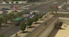 Suudi Arabistan'da tır kırmızıda bekleyen araçlara çarptı