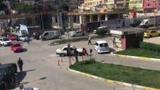 Zonguldak'ta tartıştığı kadının üzerine otomobilini sürdü