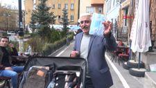 Erzurumlu seyyar satıcı Neşeli Günler filmini hatırlattı