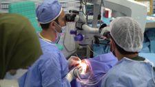 İdlib'de açılan Göz Sağlığı Merkezinde 3 ayda 200 hasta tedavi edildi