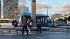 Kadıköy'de minibüsçüler tehlikeye davetiye çıkardı
