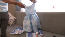 Sosyal medyadan eşine elbise siparişi verdi, gelen kargoyla şoke oldu